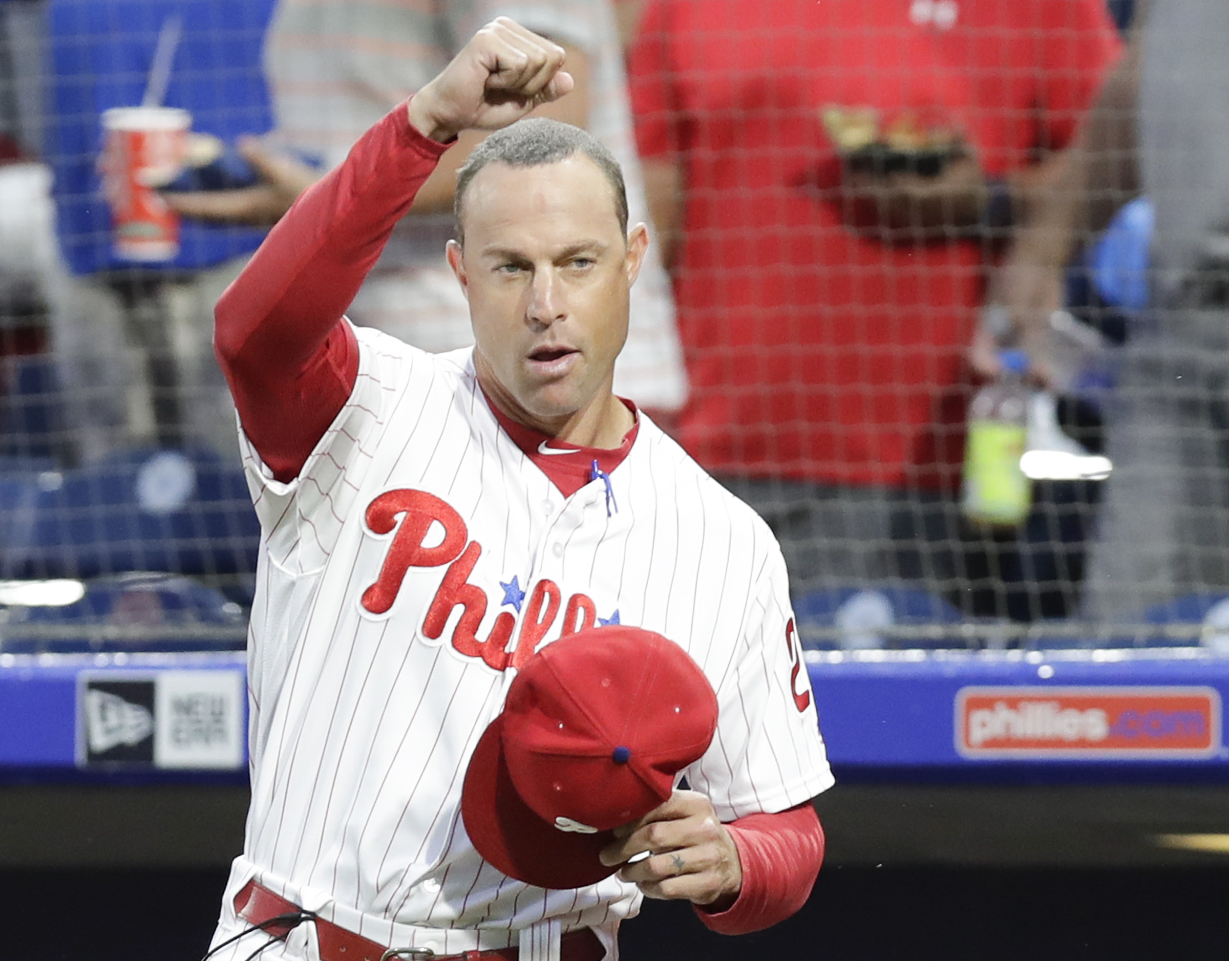 Despite a historic collapse over the final two months of the season, manager Gabe Kapler believes strongly in the Phillies´ process and vision for what a successful organization looks like in 2018.