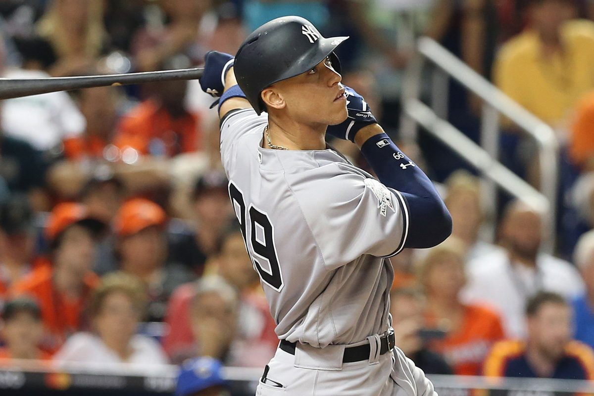 New York Yankees star slugger Aaron Judge was drafted 16 spots after the Philadelphia Phillies drafted J.P. Crawford in 2013.