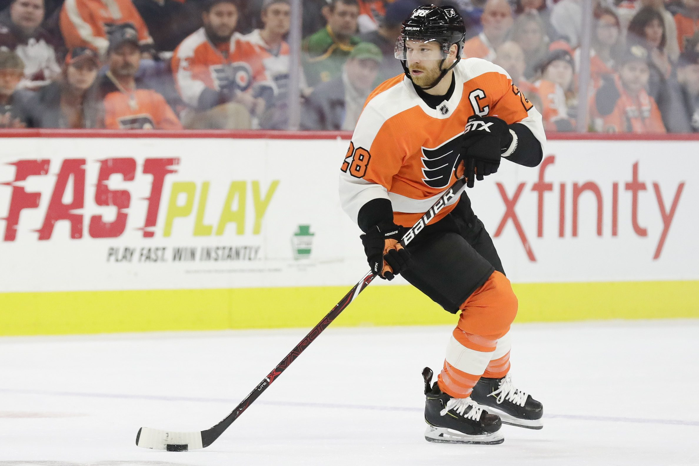 Claude Giroux´s contract would make it difficult to trade him.