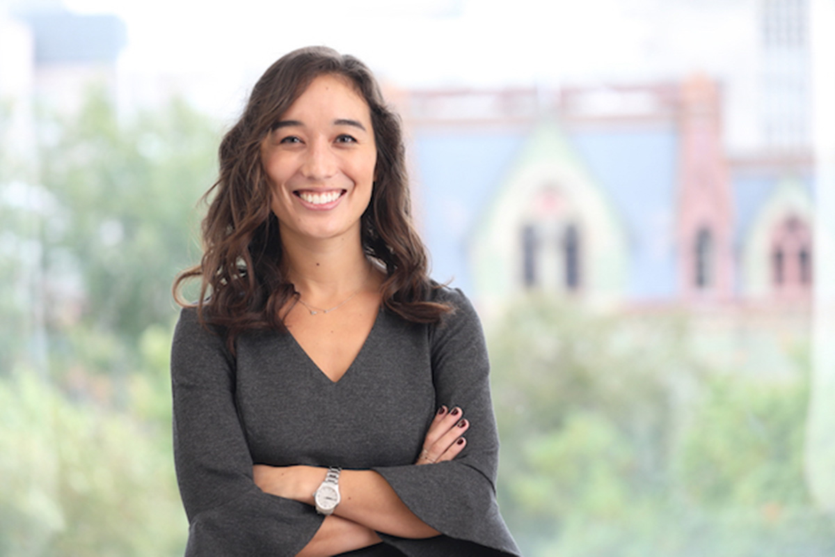 Rebecca Umbach, a former Penn doctoral student, who published research in the Journal of Experimental Criminology studying daylight saving time and crime.