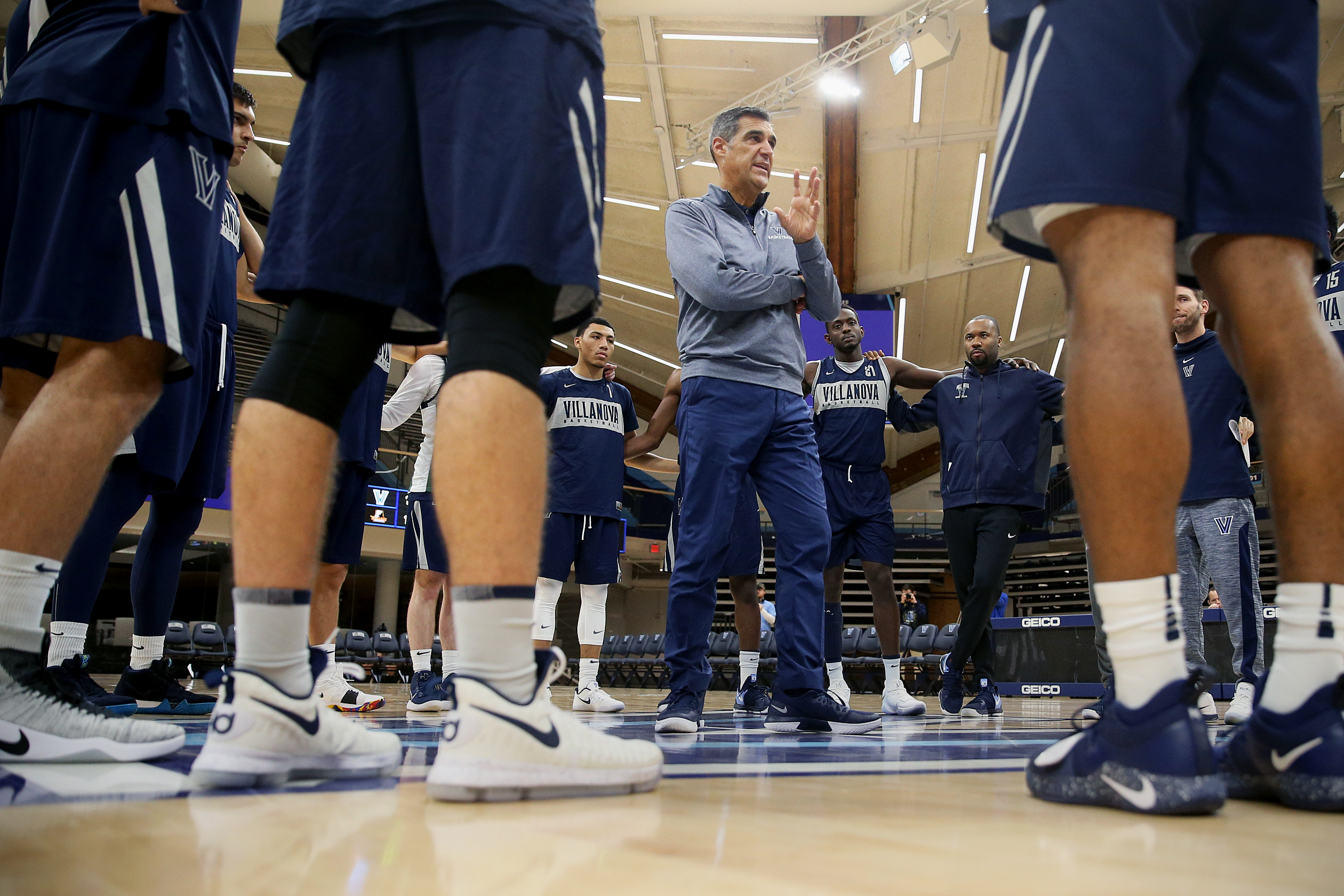 Jay Wright has a bit of a rebuilding project in front of him.
