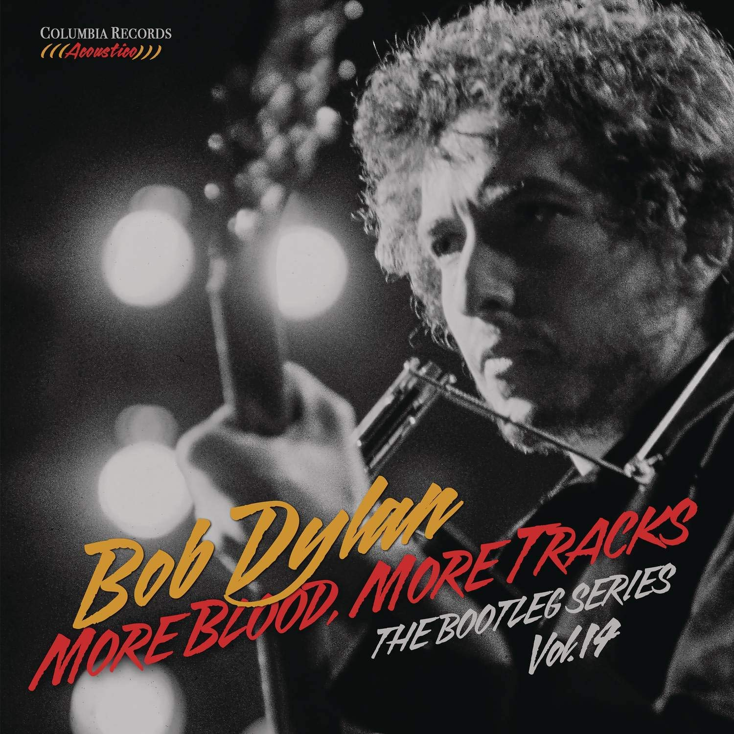 The cover of Bob Dylan´s ´More Blood, More Tracks,´