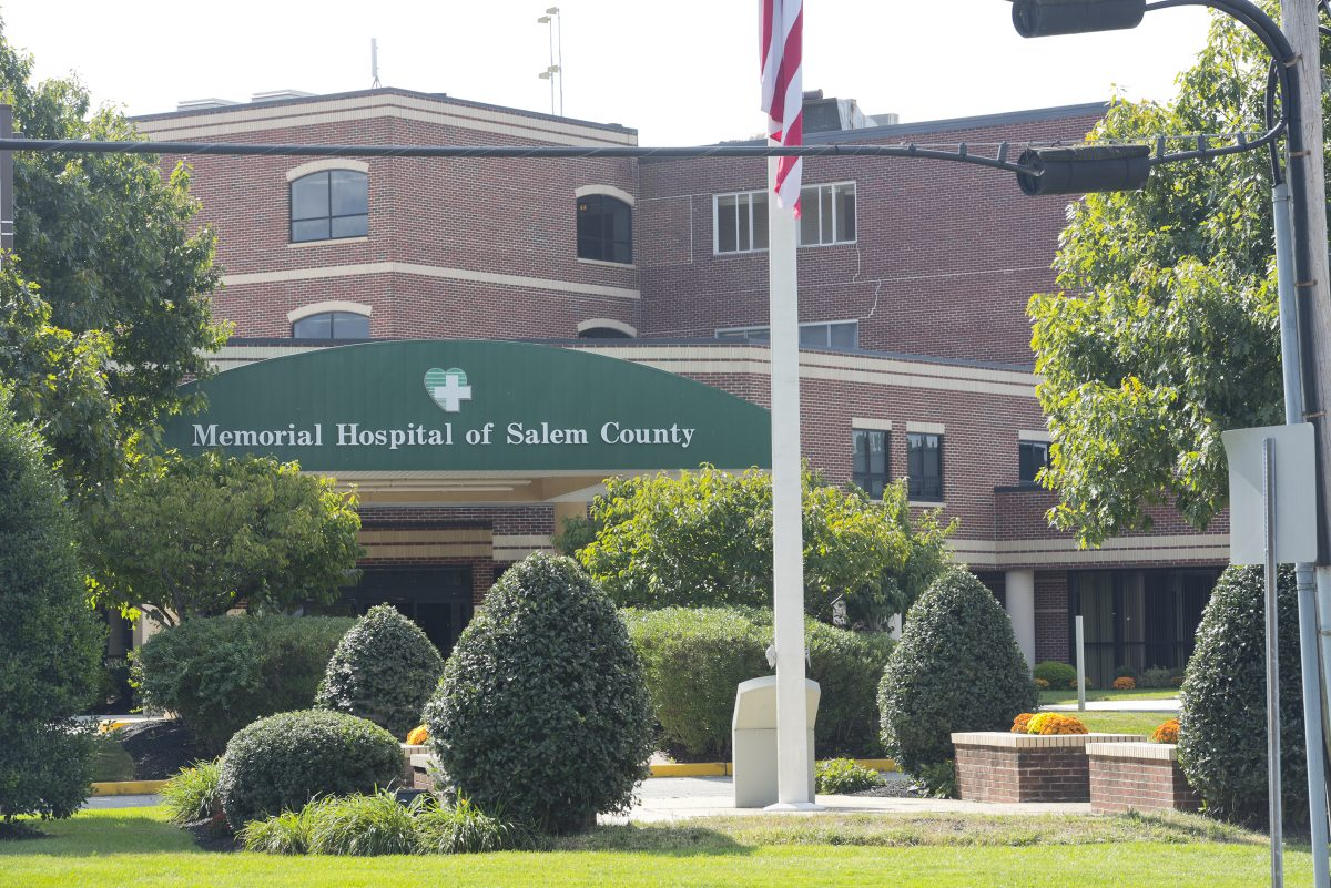 Exterior view of Memorial Hospital of Salem County.