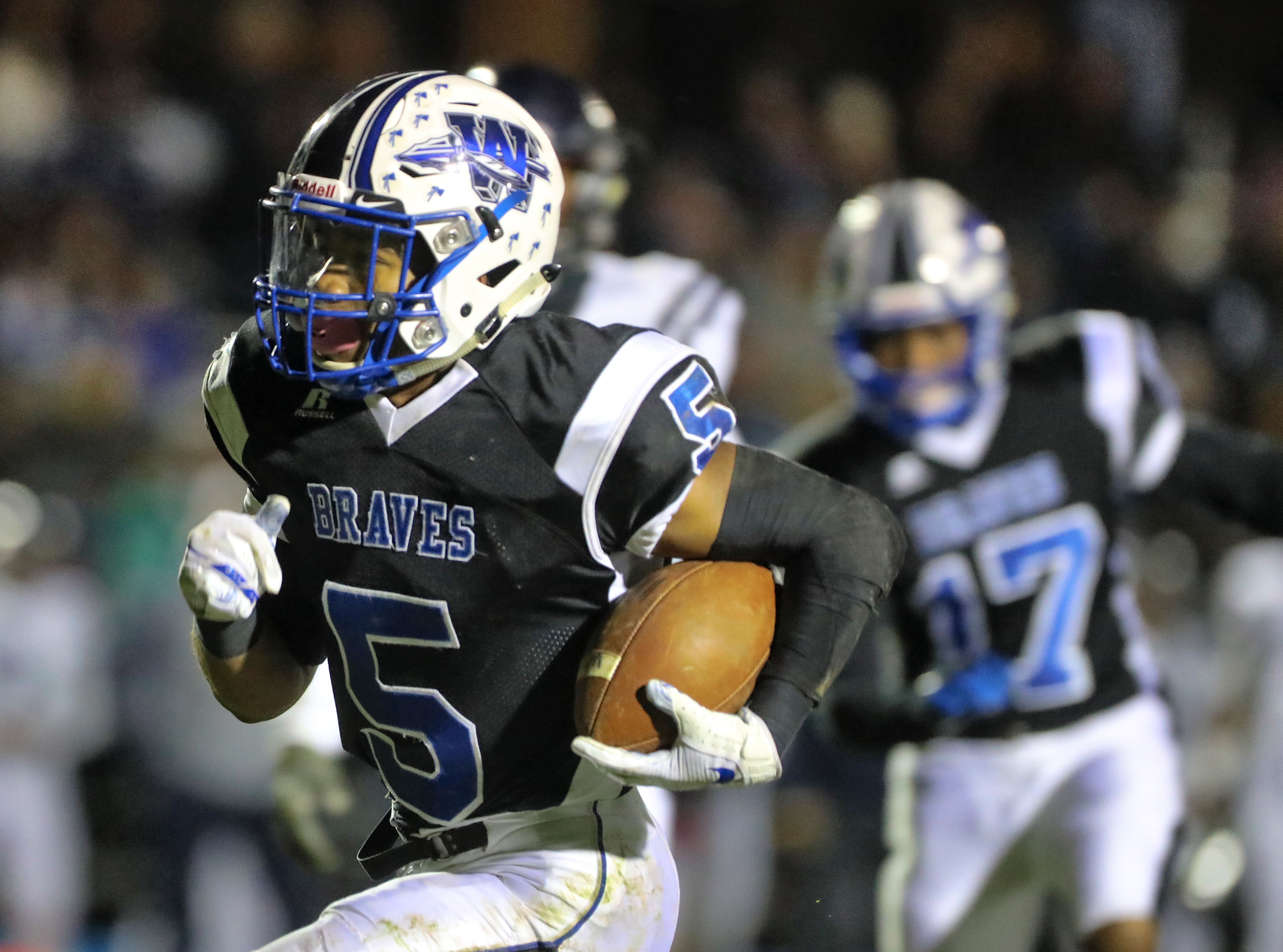 Senior Wade Inge is a player to watch for Williamstown.