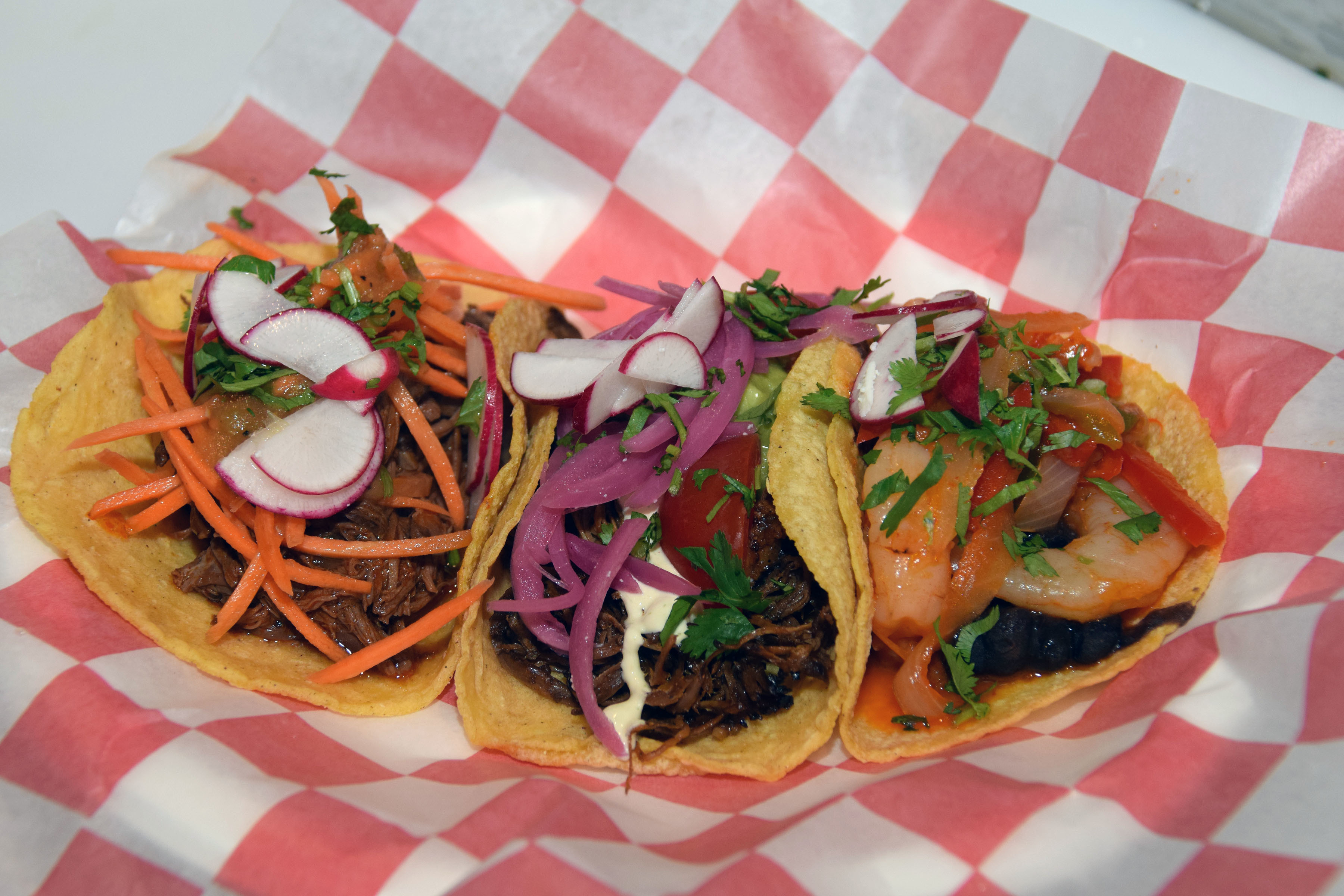 Tacos from the Taco Shop at the Cape May Airport. GREGG KOHL