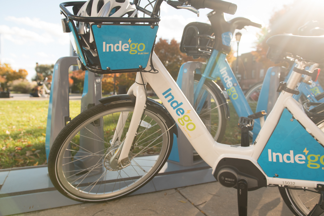 Philadelphia´s Indego bicycle ride share program launched a pilot program of 10 electric assist bikes on Thursday, Nov. 8, 2018.