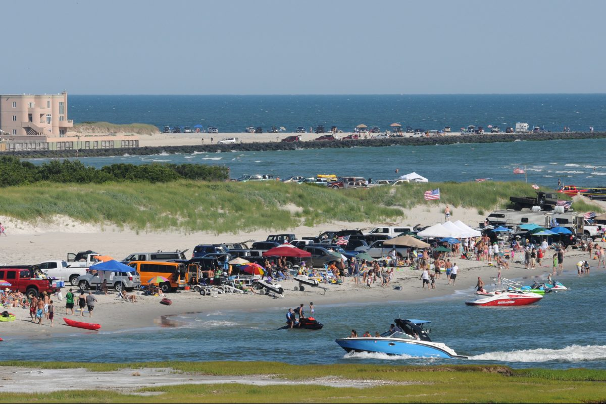 In Brigantine, you can drive on the beach.