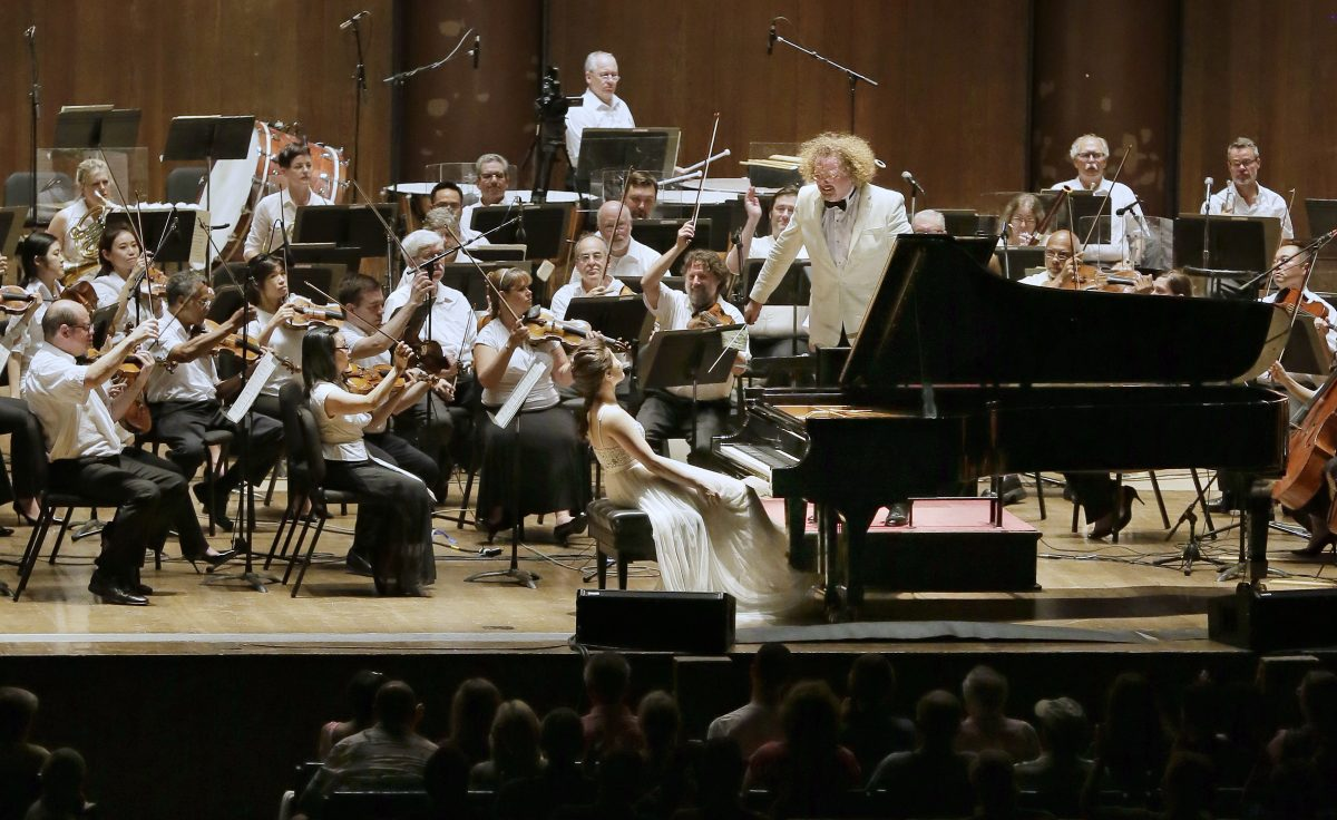 Pianist Yijia Wang  and Philadelphia Orchestra principal guest conductor Stephane Deneve made their Mann Center debuts Wednesday.