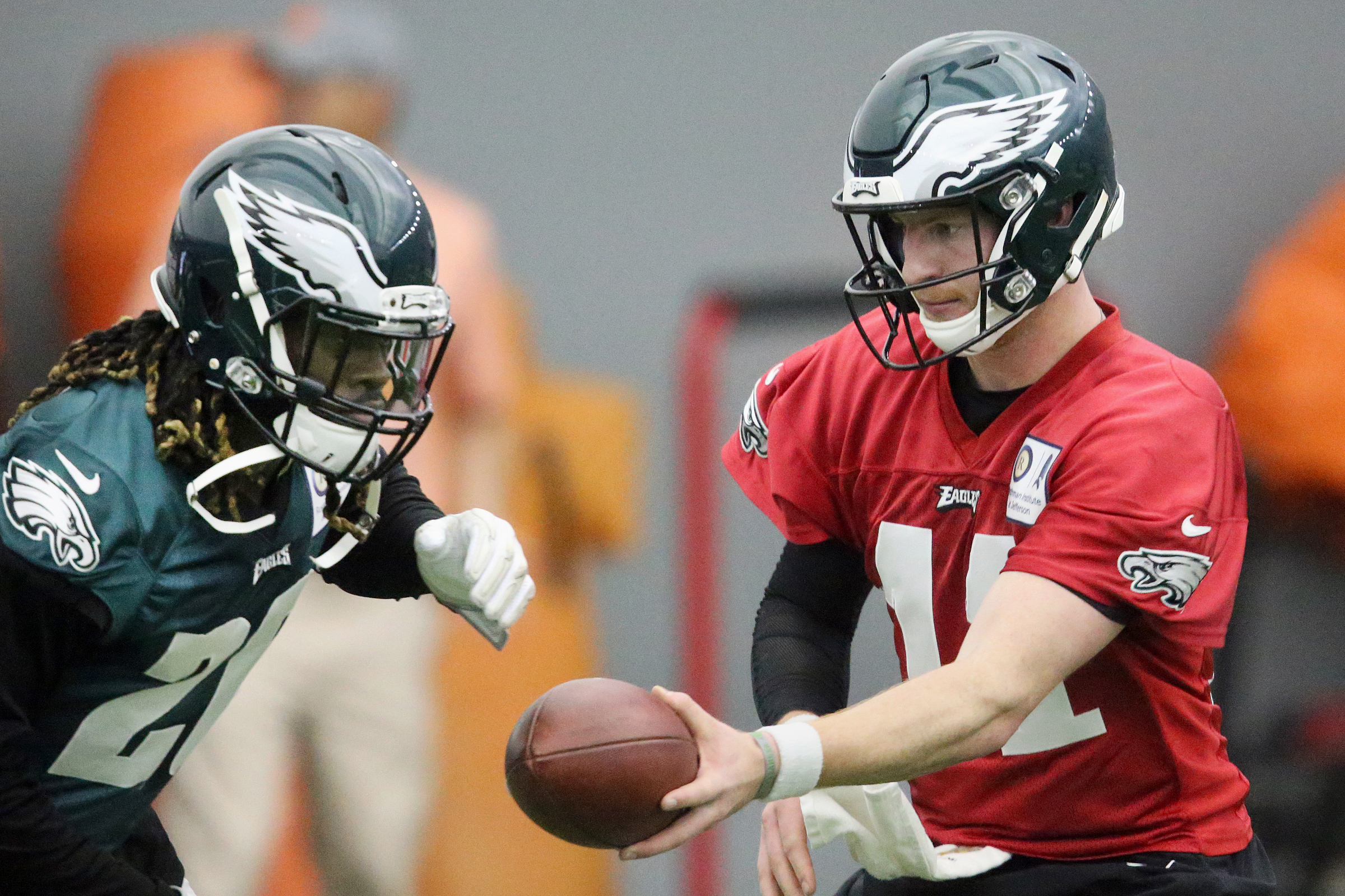 Both Carson Wentz and Jay Ajayi have had injuries handled oddly by the medical staff.