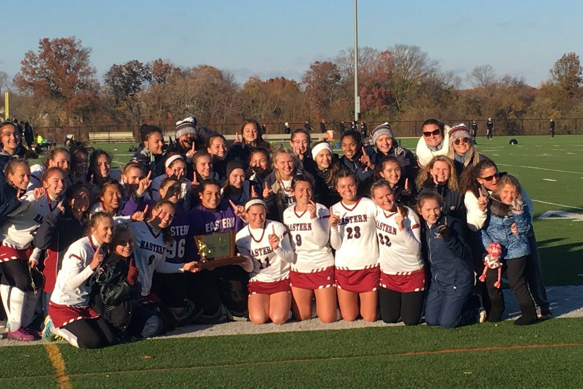 Eastern field hockey defeated Bridgewater-Raritan to win its 20th straight Group 4 state title.