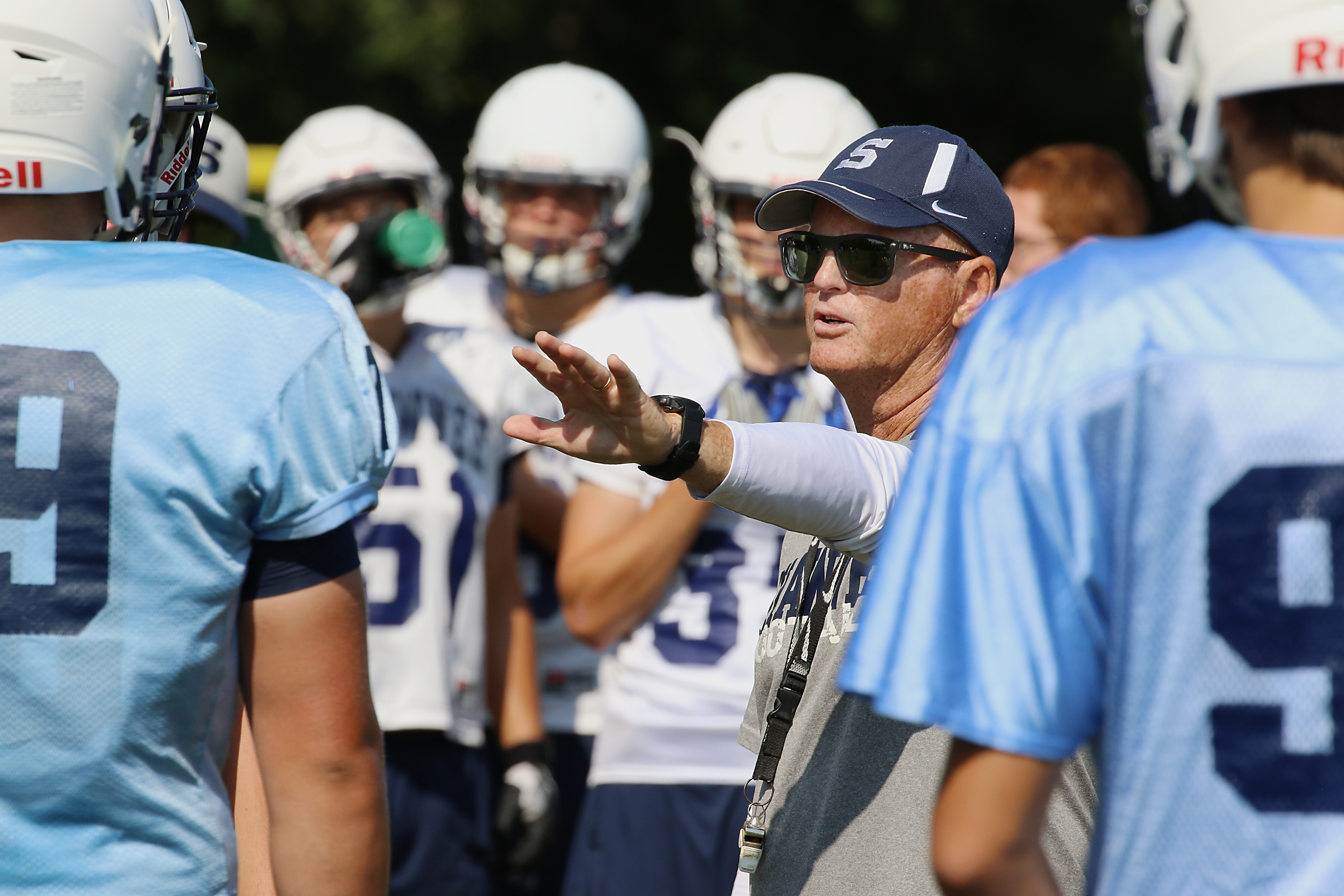 Veteran coach Tim Gushue has led Shawnee back to the sectional finals for the fifth time in six seasons.