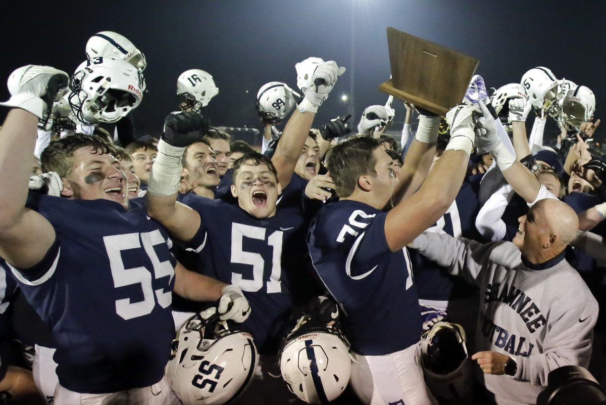 Defending South Jersey Group 4 champion Shawnee is back in the sectional finals this season despite entering the playoffs with a 2-6 record.