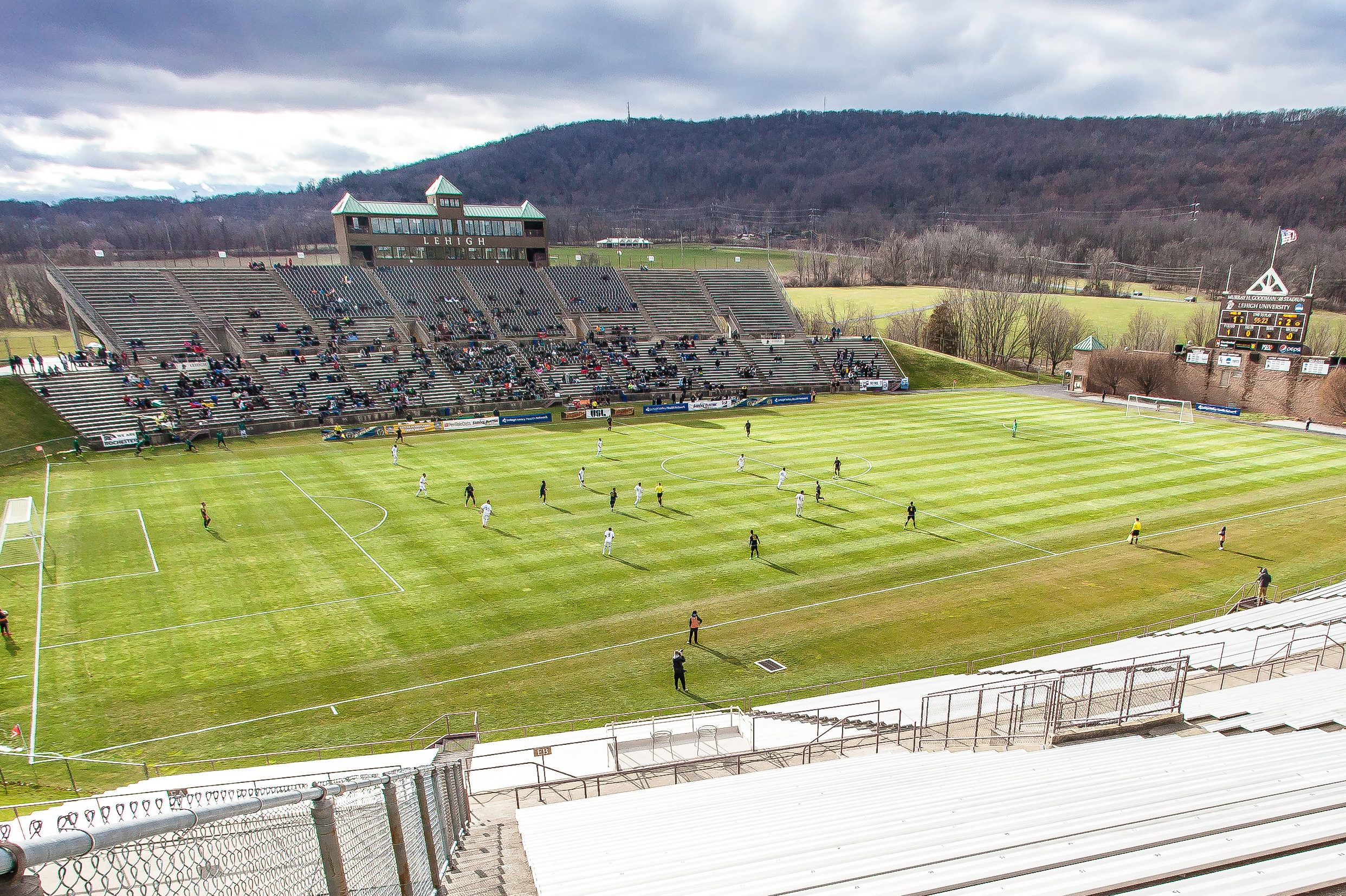 Steel has played the first two seasons of its existence at Lehigh University´s 16,000-seat Goodman Stadium.
