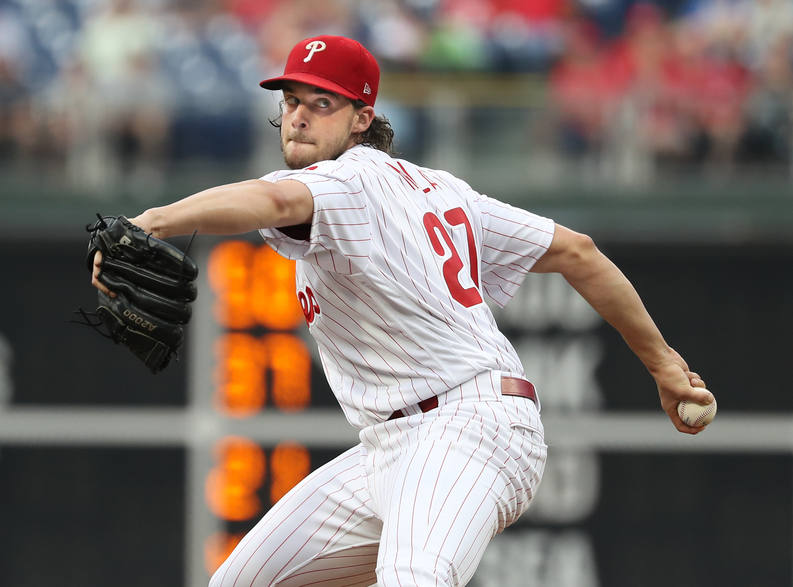 Aaron Nola likely will be paid a lot more in 2019.