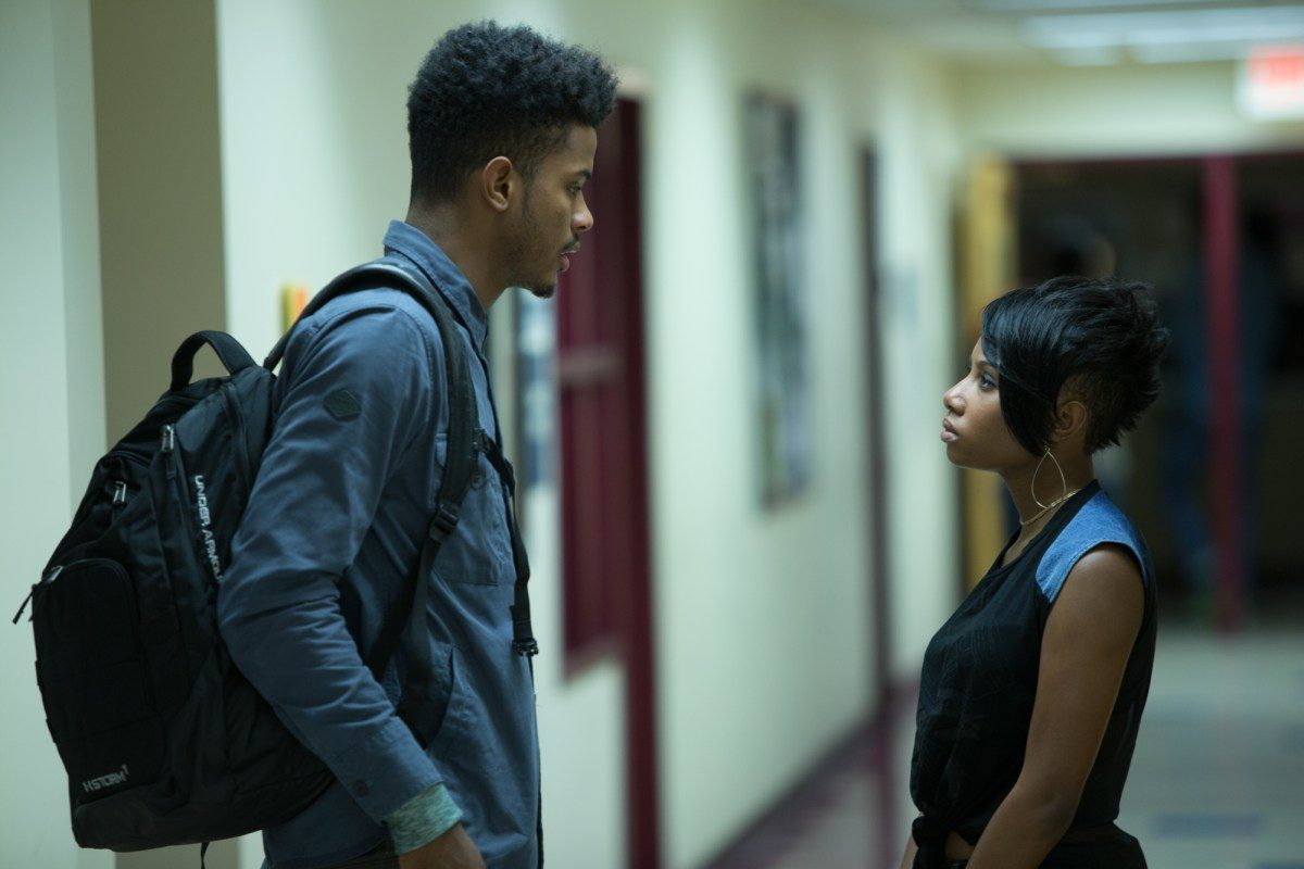 Netflix´ film ´Burning Sands,´ starring Trevor Jackson (left) and Imani Hakim (right) premiered on the subscription site in January.