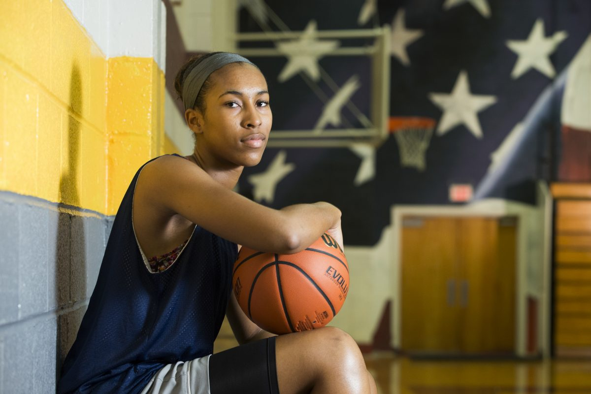 Gloucester Catholic's Azana Baines will sign a letter of intent on Thursday to commit to playing at Duke.