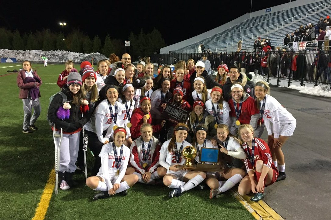 The Souderton girls' soccer team beat Pennridge, 1-0, in overtime to capture the PIAA Class 4A final.