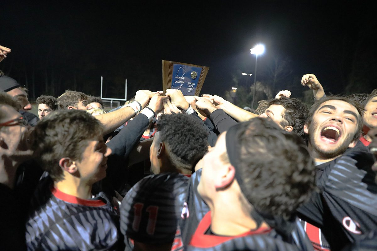 After winning the South Jersey Group 2 title on Friday night, Haddonfield's football team will play traditional rival Haddon Heights on Thanksgiving morning.