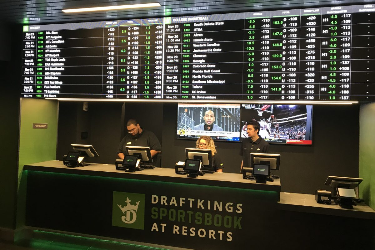Resorts casino and hotel upgraded its sportsbook big-time.