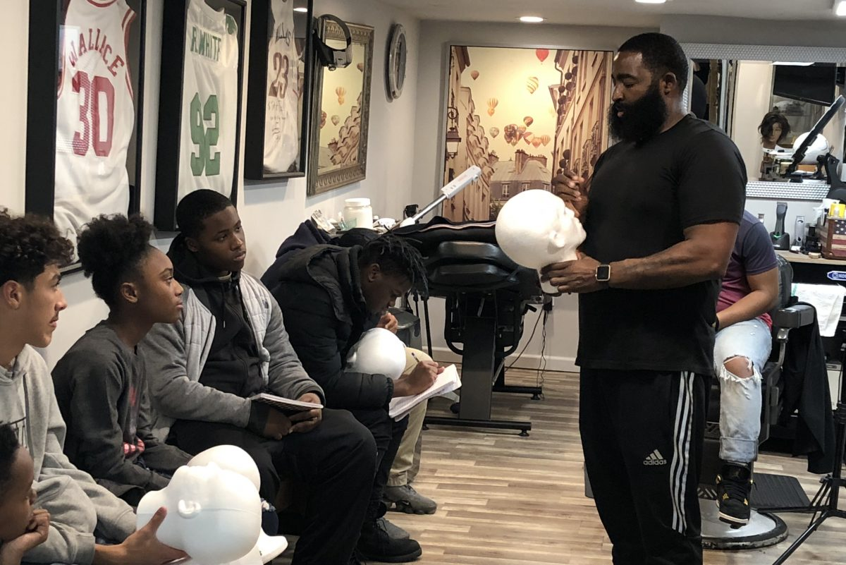 North Philly's Junior Barber Academy teaches kids the basics of barbering and entrepreneurship