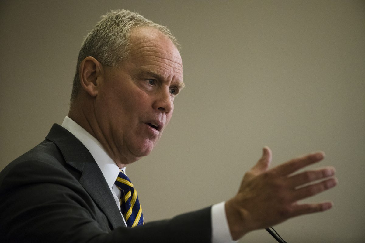 House Speaker Mike Turzai (R., Allegheny) is taking a political gamble that could set back budget negotiations for weeks,  if not months. (AP Photo/Matt Rourke)