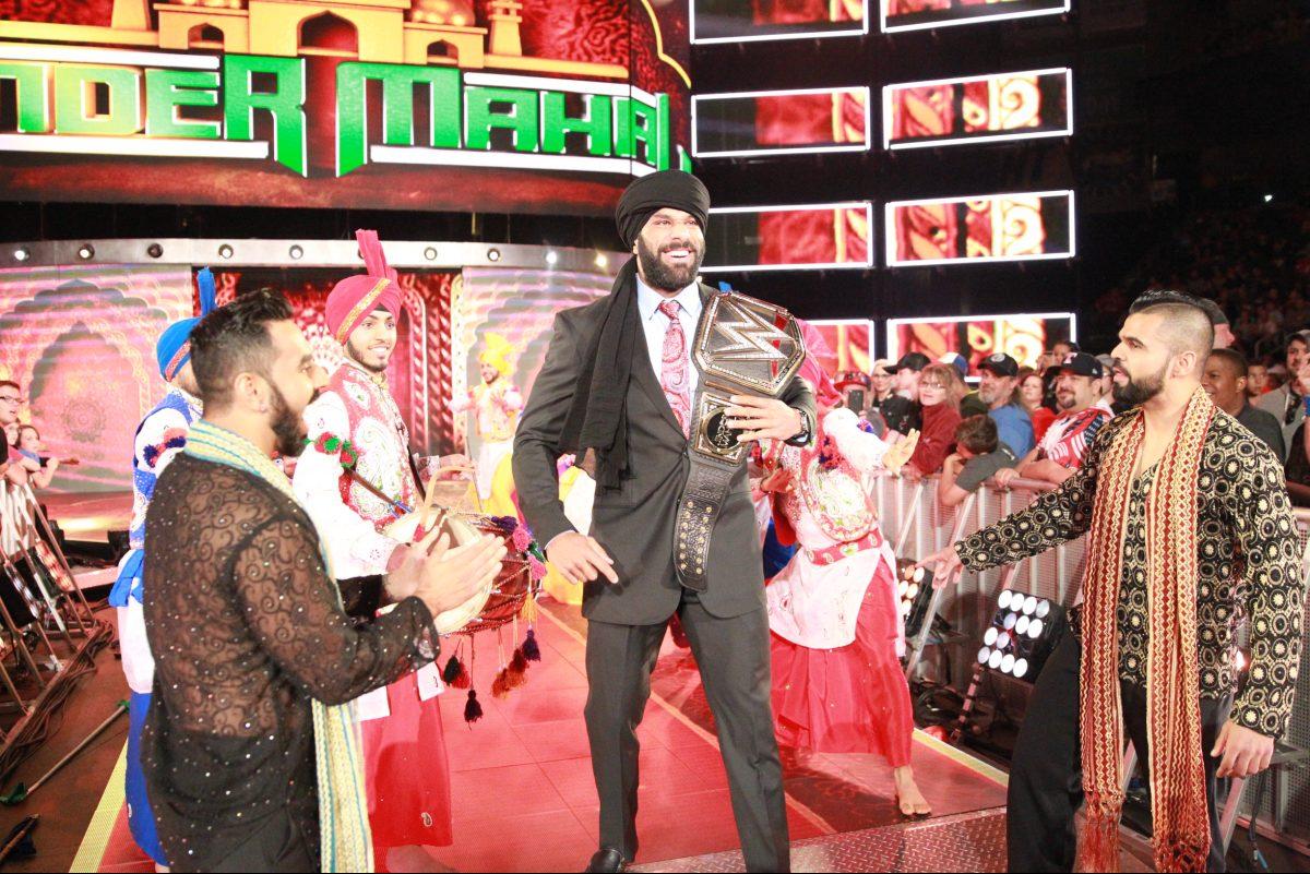 Jinder Mahal, WWE´s reigning champion