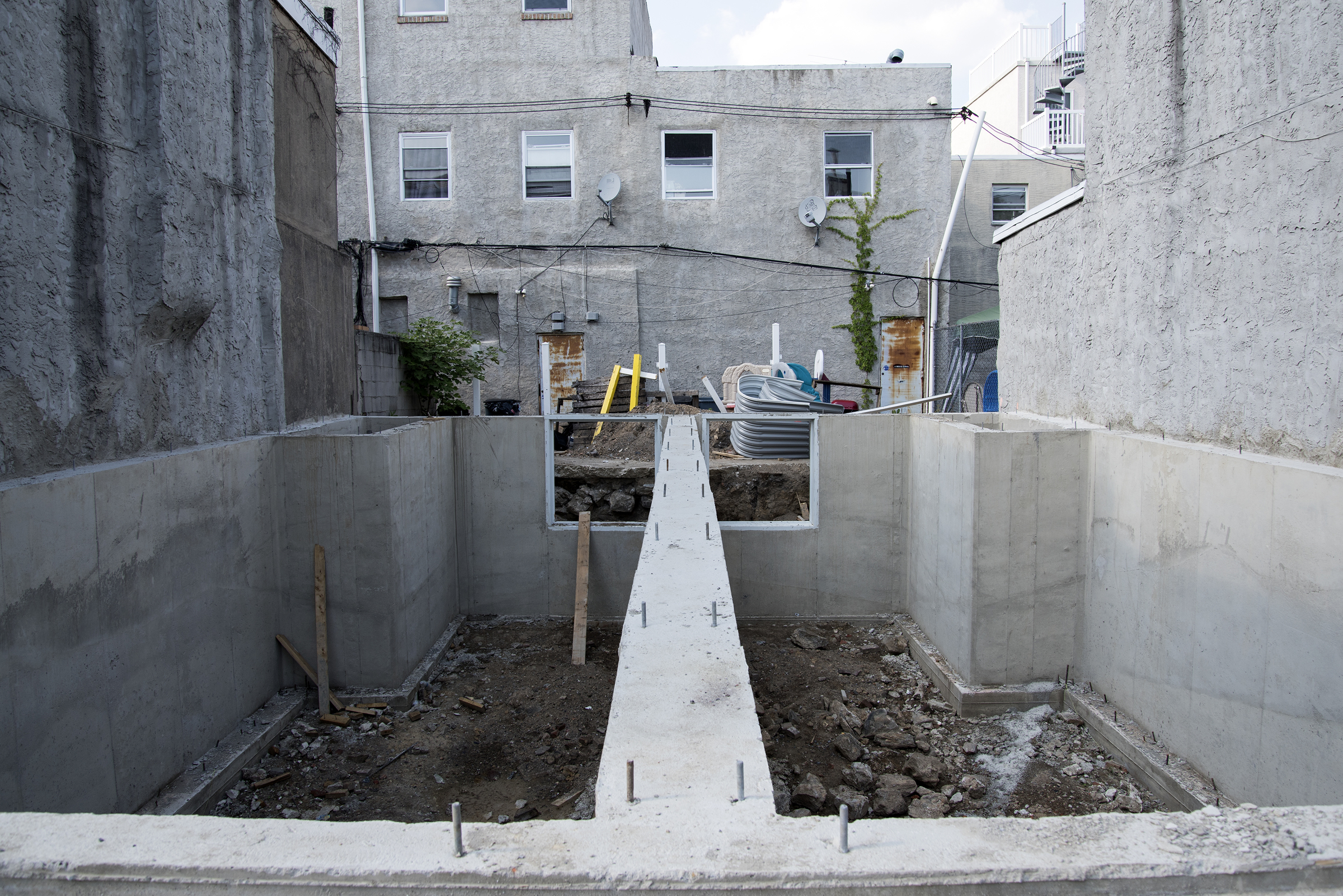 """These lots on Manton Street from June 2016 now have new homes that were sold for $325,000 and $340,000. City records initially recorded the sales as no-bid """"side yard"""" transactions."""