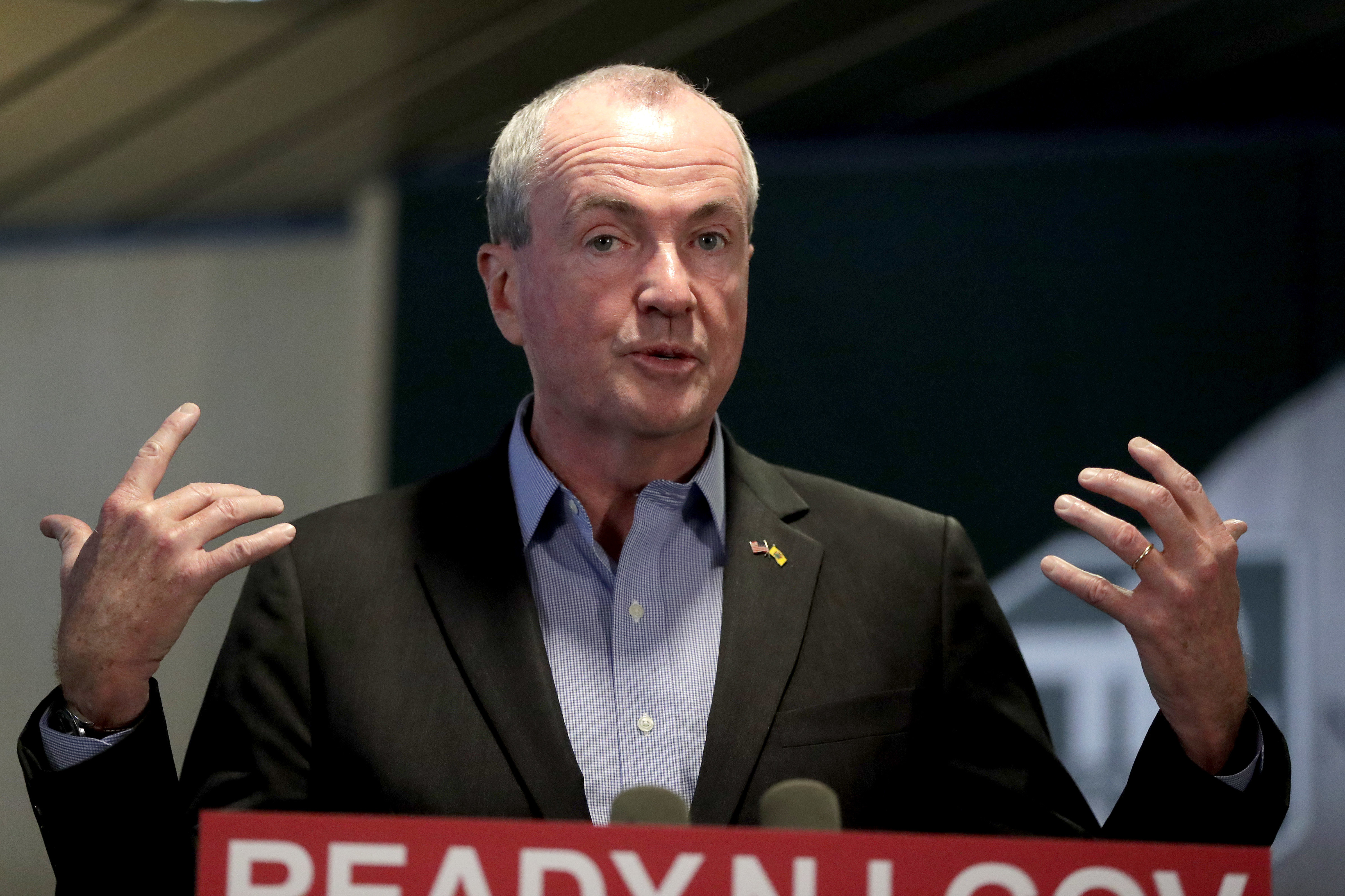 "Gov Murphy in November. In a statement Tuesday, he said he commended Brennan for ""the courage, bravery, and leadership she showed in telling her story."""
