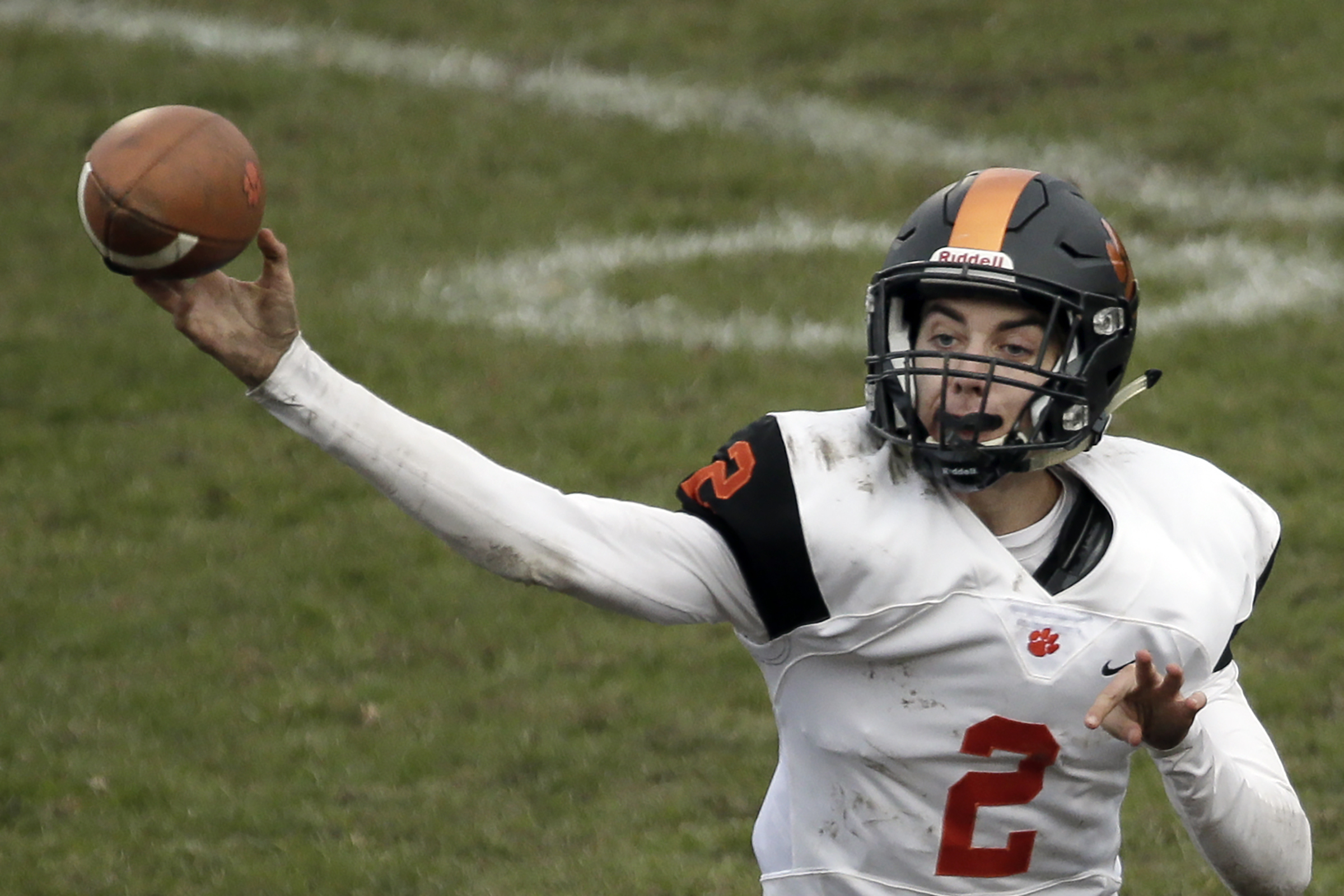 Woodrow Wilson´s Nick Kargman threw 41 touchdown passes this season, the third-most in South Jersey history.