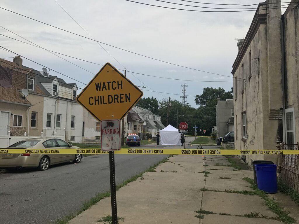 The intersection of Thomas and Terrill Streets in the City of Chester was the scene of a fight that turned into a shooting Saturday night resulting in the death of Teshon Malloy, 23, and the arrest of Miguel Angel Moreno, 18, on homicide and related offenses.