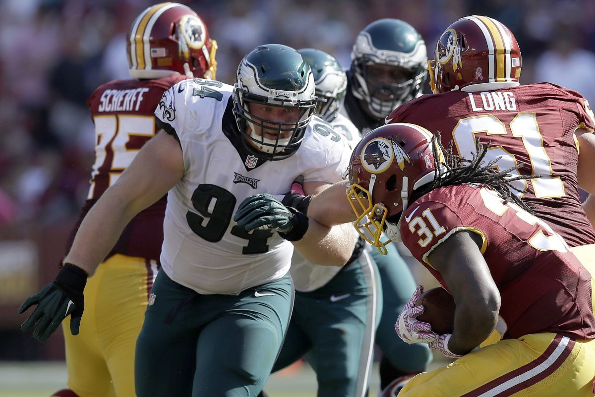 Eagles nose tackle Beau Allen was placed on the non-football injury list on Sunday.