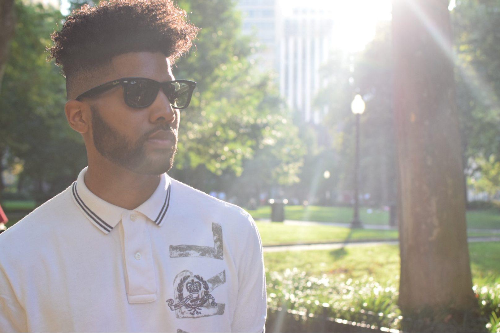 Singer and songwriter, Darius Coleman serenades pedestrians as part of his #SidewalkSerenade series.
