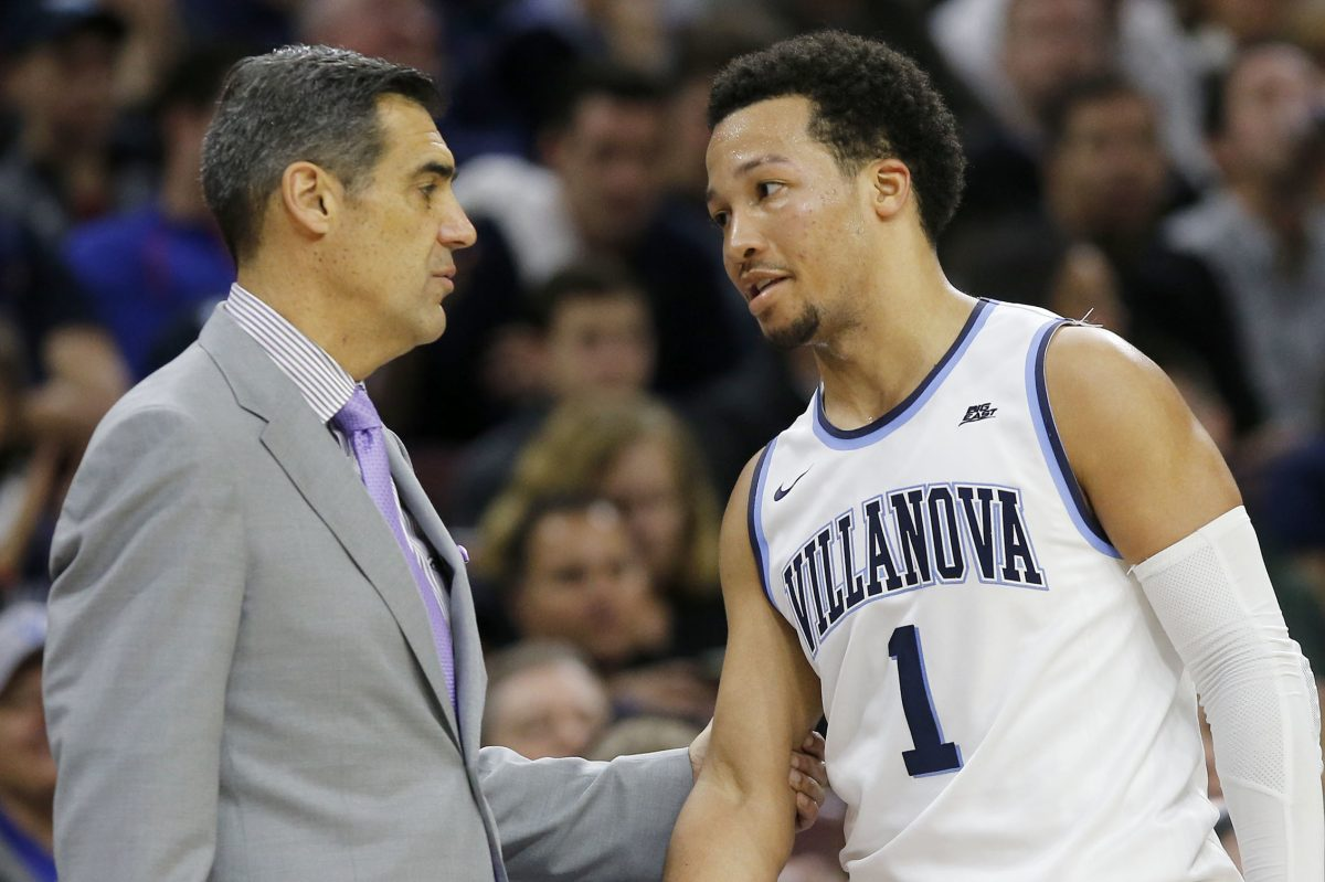 Coach Jay Wright, guard Jalen Brunson and the rest of the Wildcats will play in Allentown again this season.