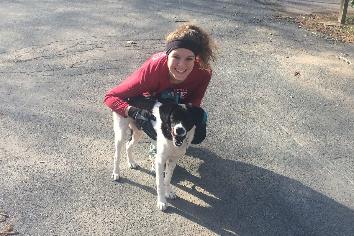 Meghan Blickman, here with her dog Buddy, lost her job, but with the help of a Special Enrollment Period and a skilled navigator, she found good health insurance on the Affordable Care Act marketplace.