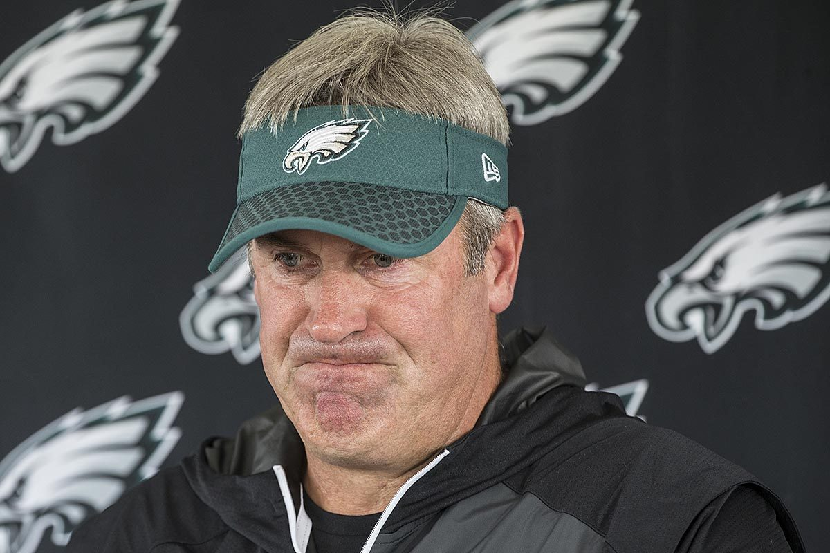 Eagles head coach Doug Pederson.