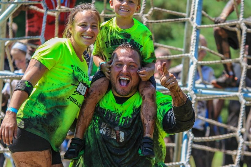 Your First Mud Run takes place this Saturday.