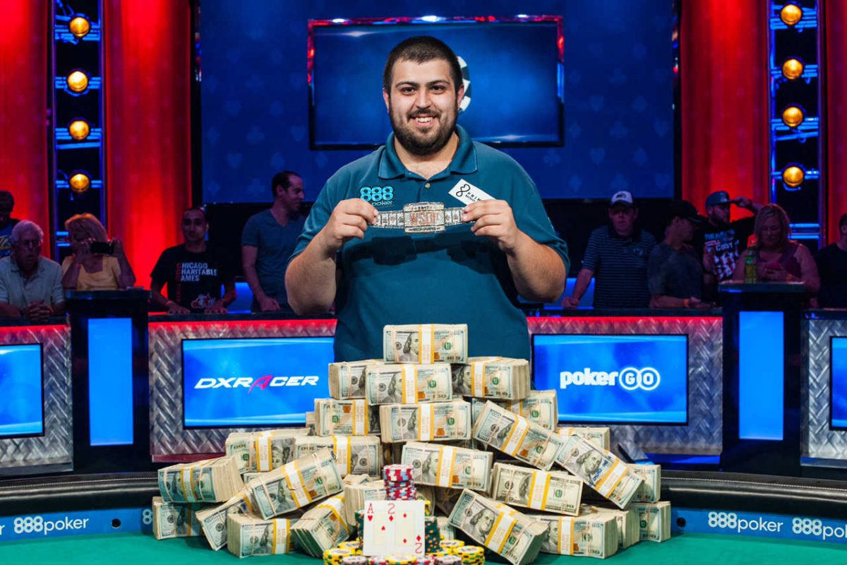 Temple University alum Scott Blumstein won the World Series of Poker Main Event on July 23, 2017. He won $8.15 million.