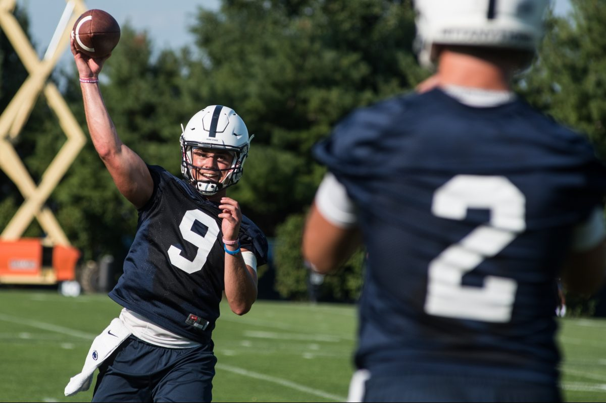 Quarterback Trace McSorley is one of the Nittany Lions' returning players.