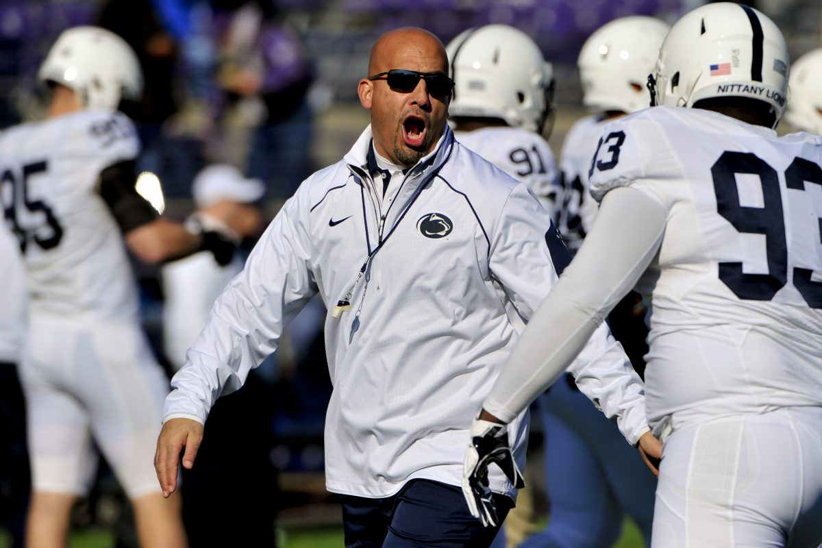 Penn State coach James Franklin and the university continue to discuss a contract extension.