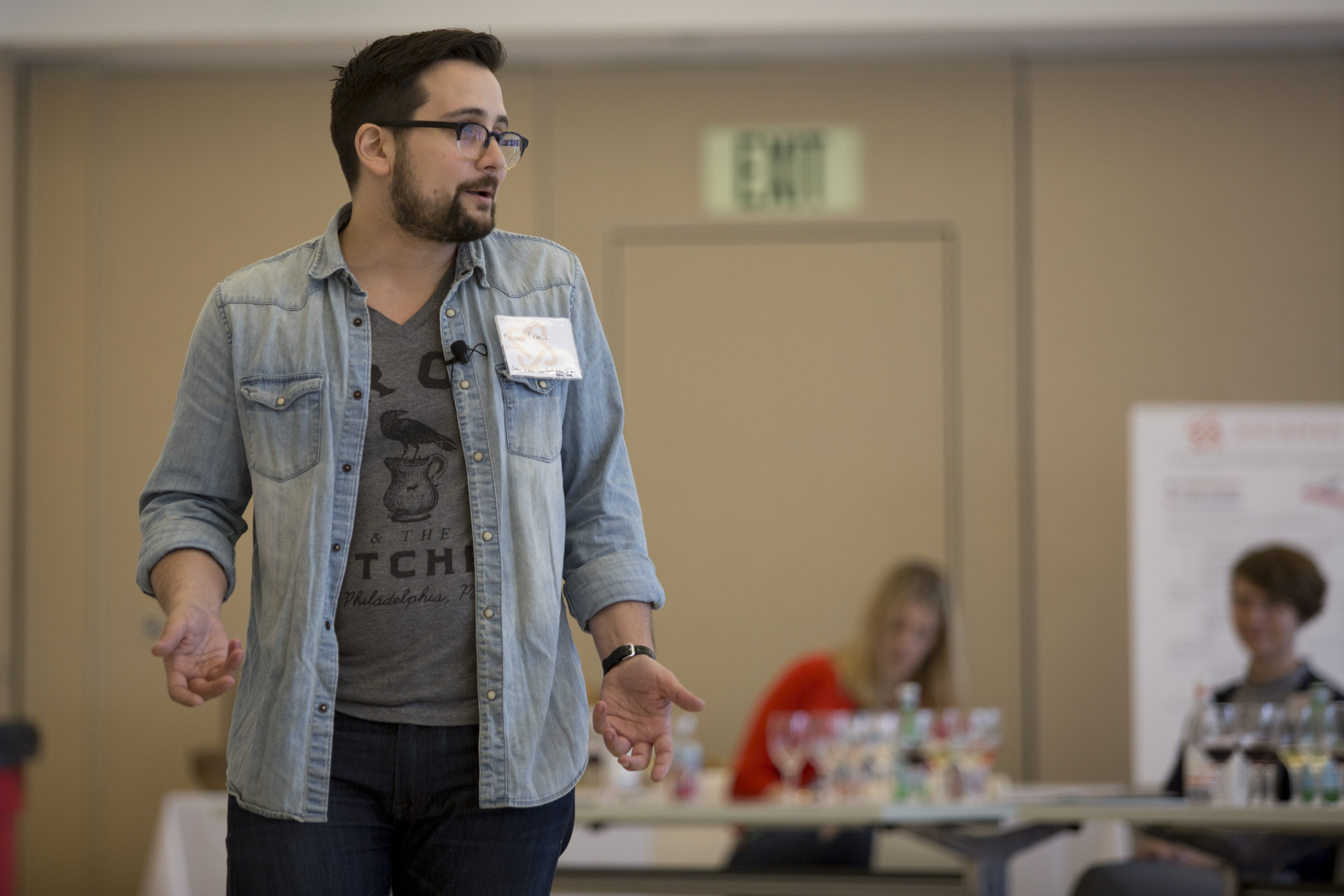 Michael Franco, owner of Baril, speaks about overcoming addiction and more. ( MARGO REED / Staff Photographer )