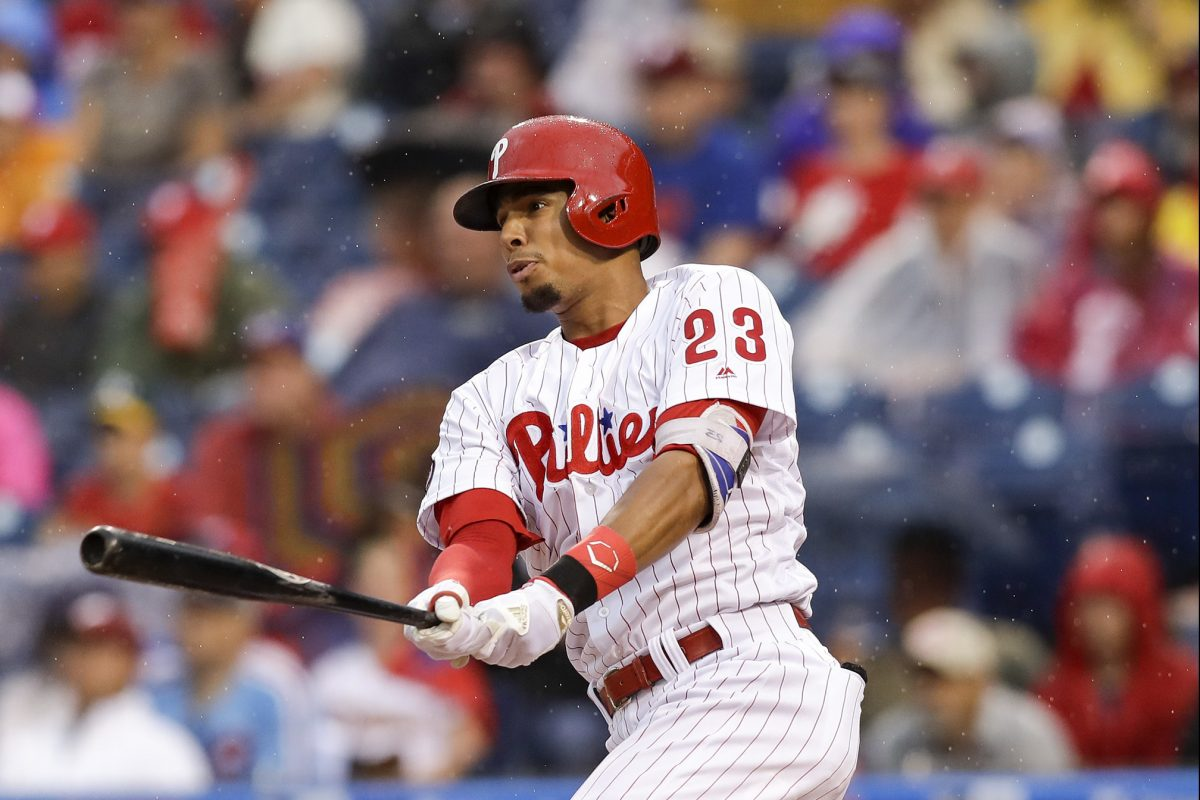 Aaron Altherr  suffered a strained hamstring on July 15. He was activated on Wednesday.