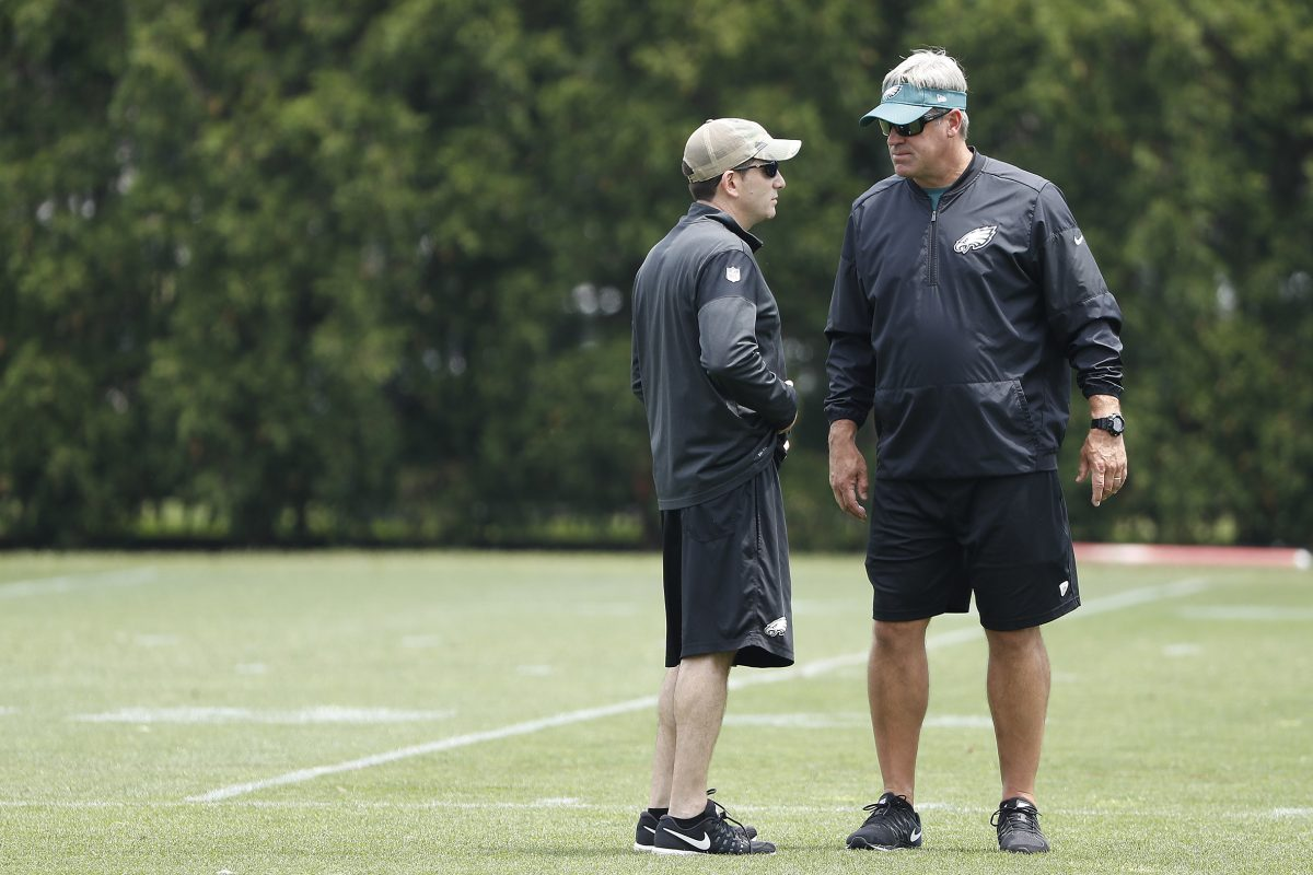 Player personnel boss Howie Roseman made some necessary moves, but has still given head coach Doug Pederson a full roster capable of winning immediately. DAVID MAIALETTI / Staff Photographer
