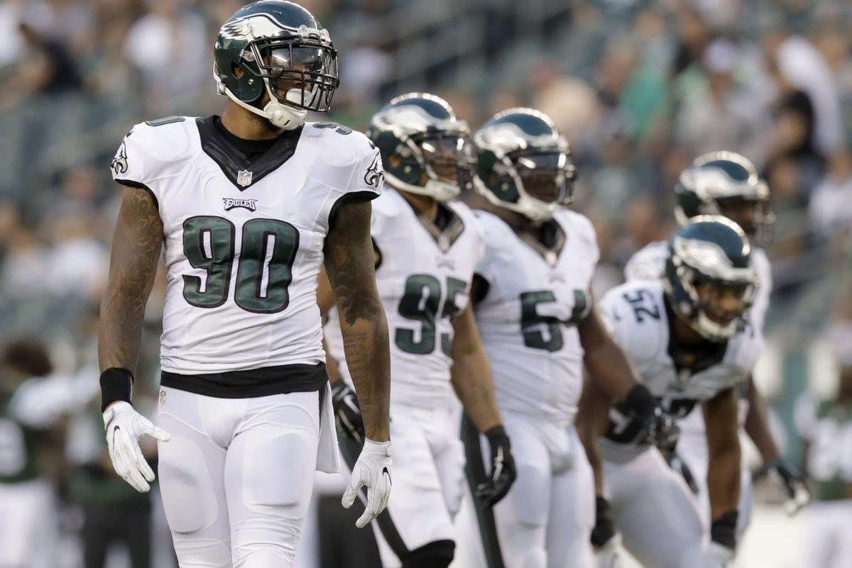Defensive end Marcus Smith will go down as one of the Eagles' biggest first-round busts.