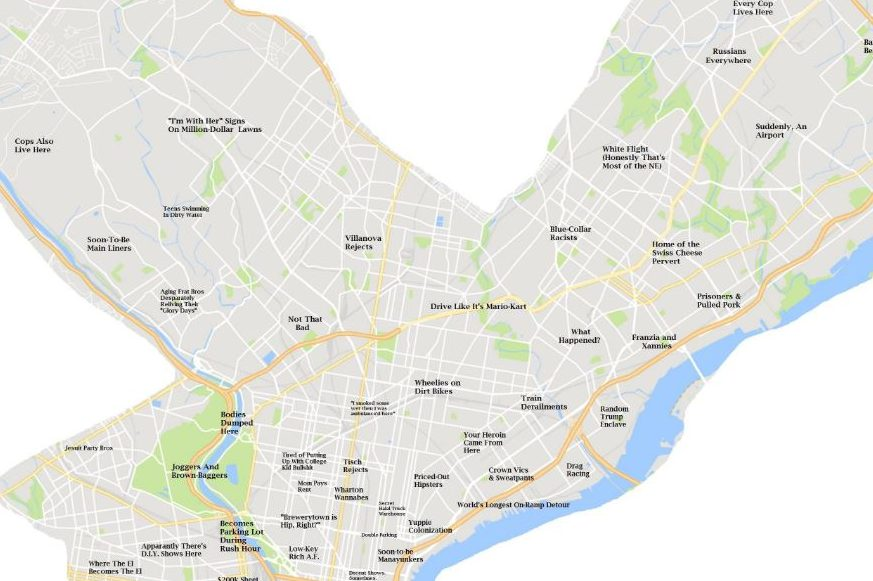 philly.com - He made a map of Philly's jerks - but he didn't want to be a jerk about it [Warning: profanity]