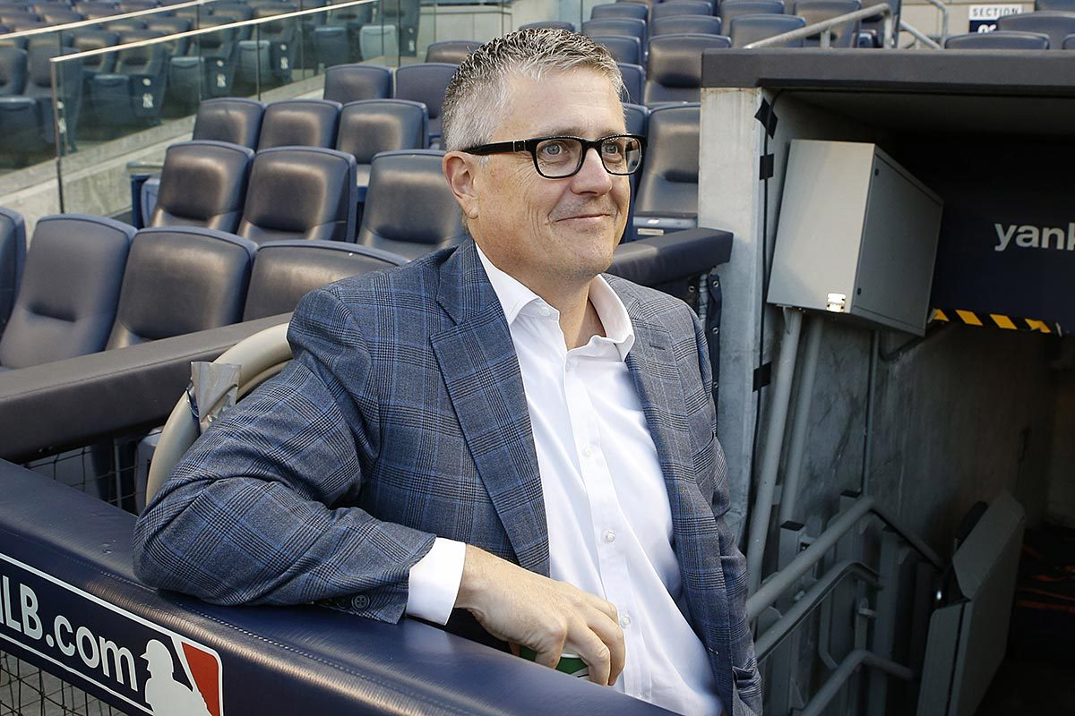 Houston Astros General Manager Jeff Luhnow.