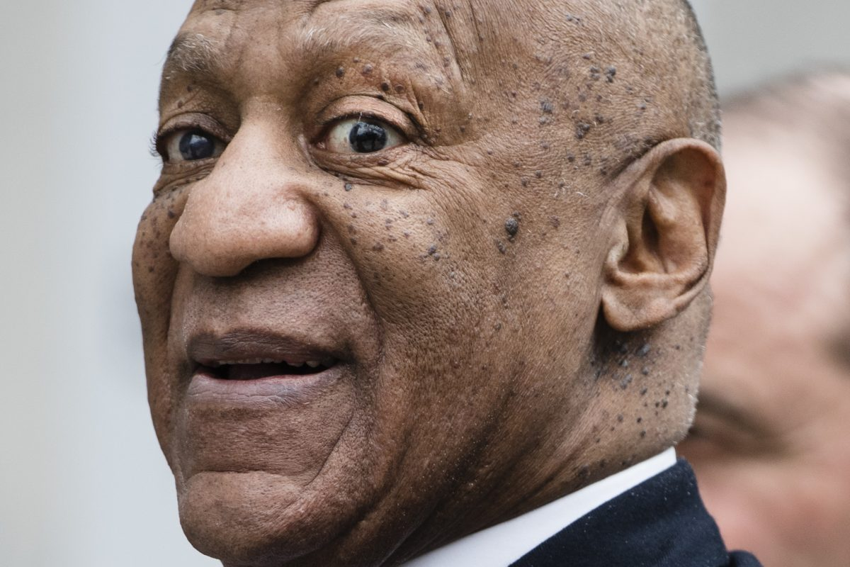 FILE – Bill Cosby photographed April 3 while departing the Montgomery County Courthouse in Norristown.