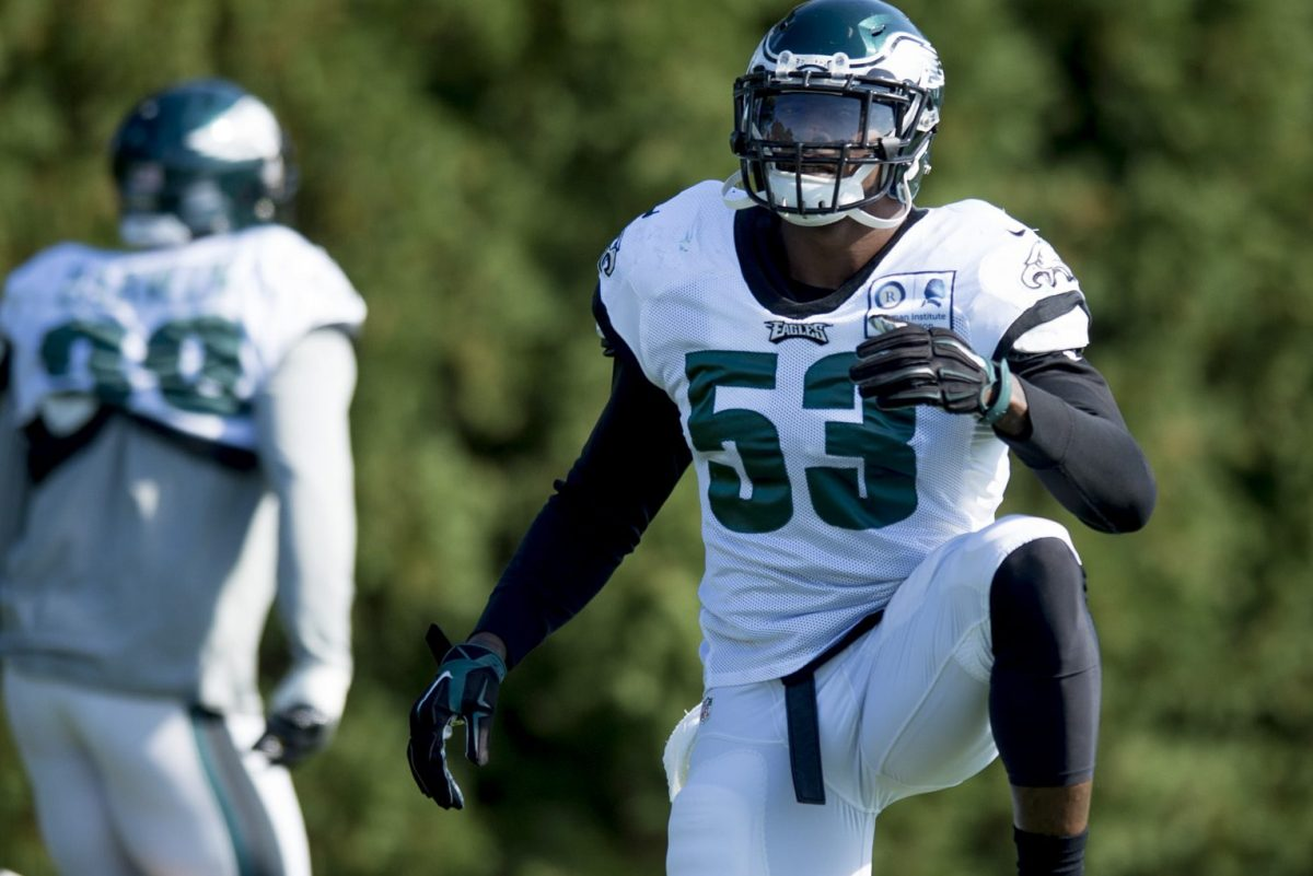 Eagles linebacker Nigel Bradham is awaiting word on whether the NFL will suspend him for brushes with the law in 2016.