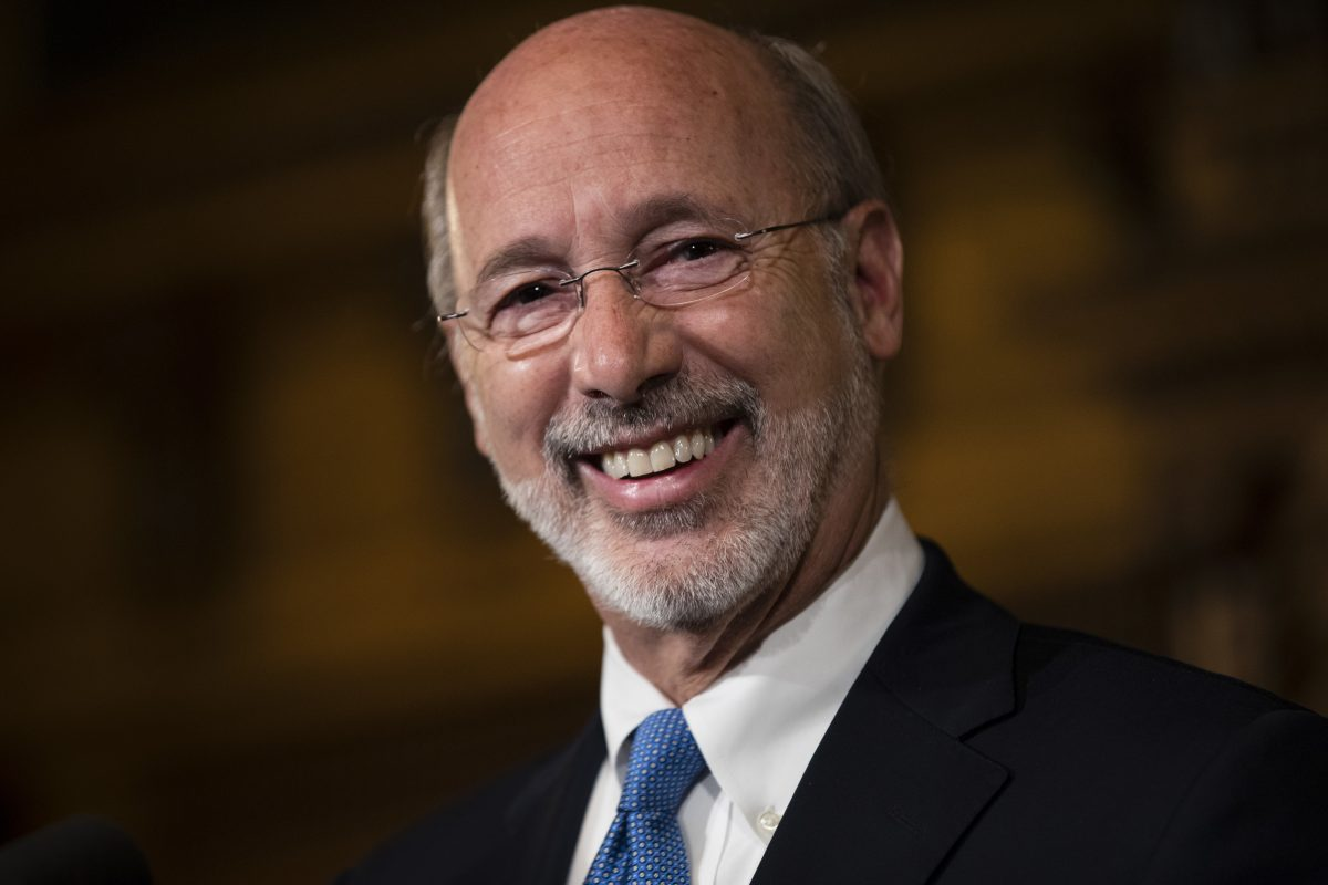 Gov. Wolf ran on a 5 percent extraction tax.