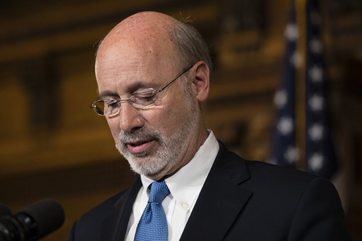 Gov. Wolf has kept a low profile throughout the state's budget impasse