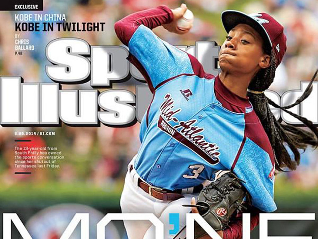 Taney´s Mo´ne Davis on the cover of Sports Illustrated, Aug. 25, 2014.
